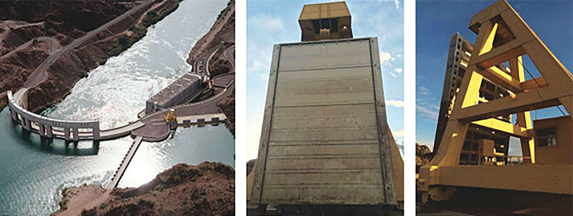 Water source dam employs cathodic protection system resulting in cost effectiveness after extending the coating service life by 15 to 30%.